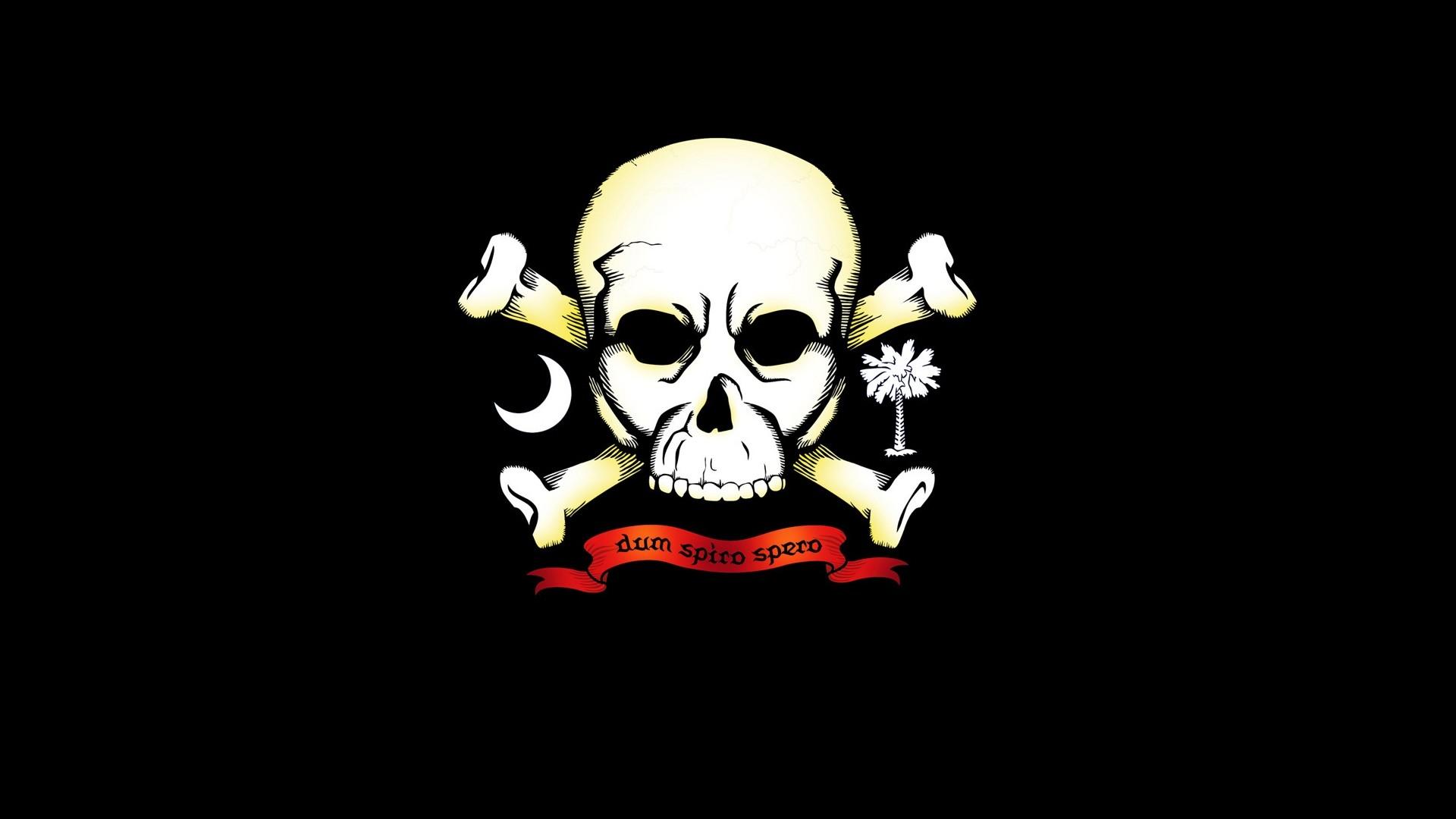 Dark – Skull Wallpaper