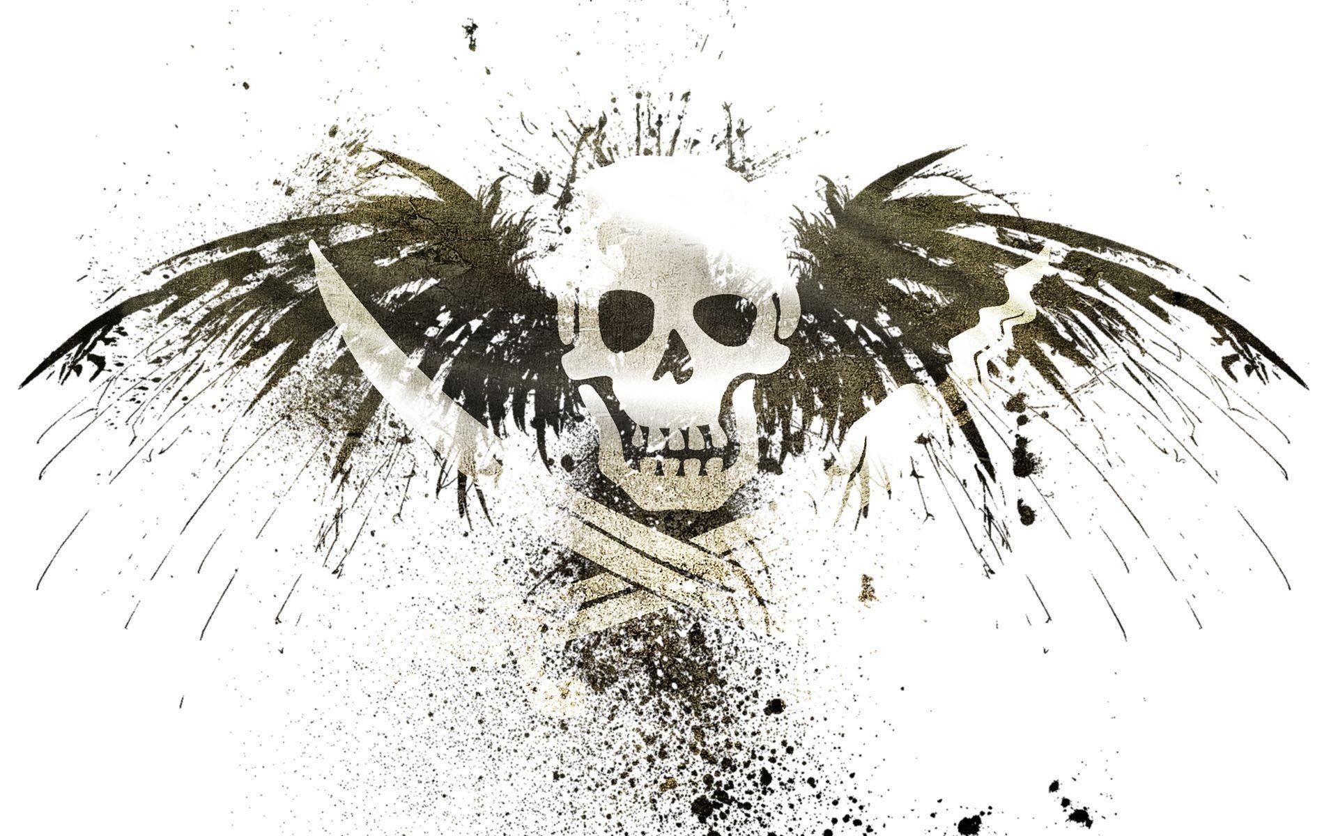 skulls, pirates, eagles, flags, skull and crossbones :: Wallpapers