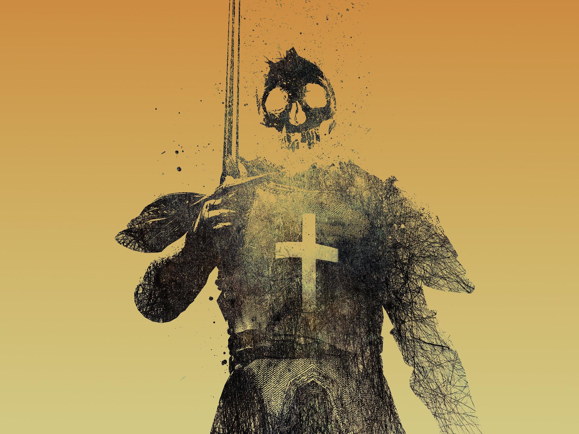 Skulls knights skull and crossbones alex cherry wallpaper