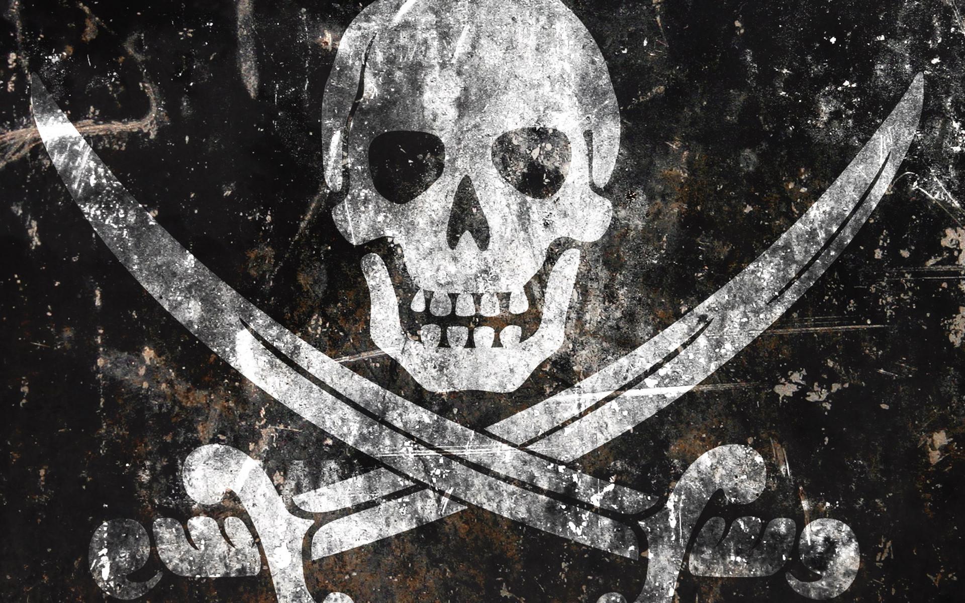 Black Pirates Skulls 16350