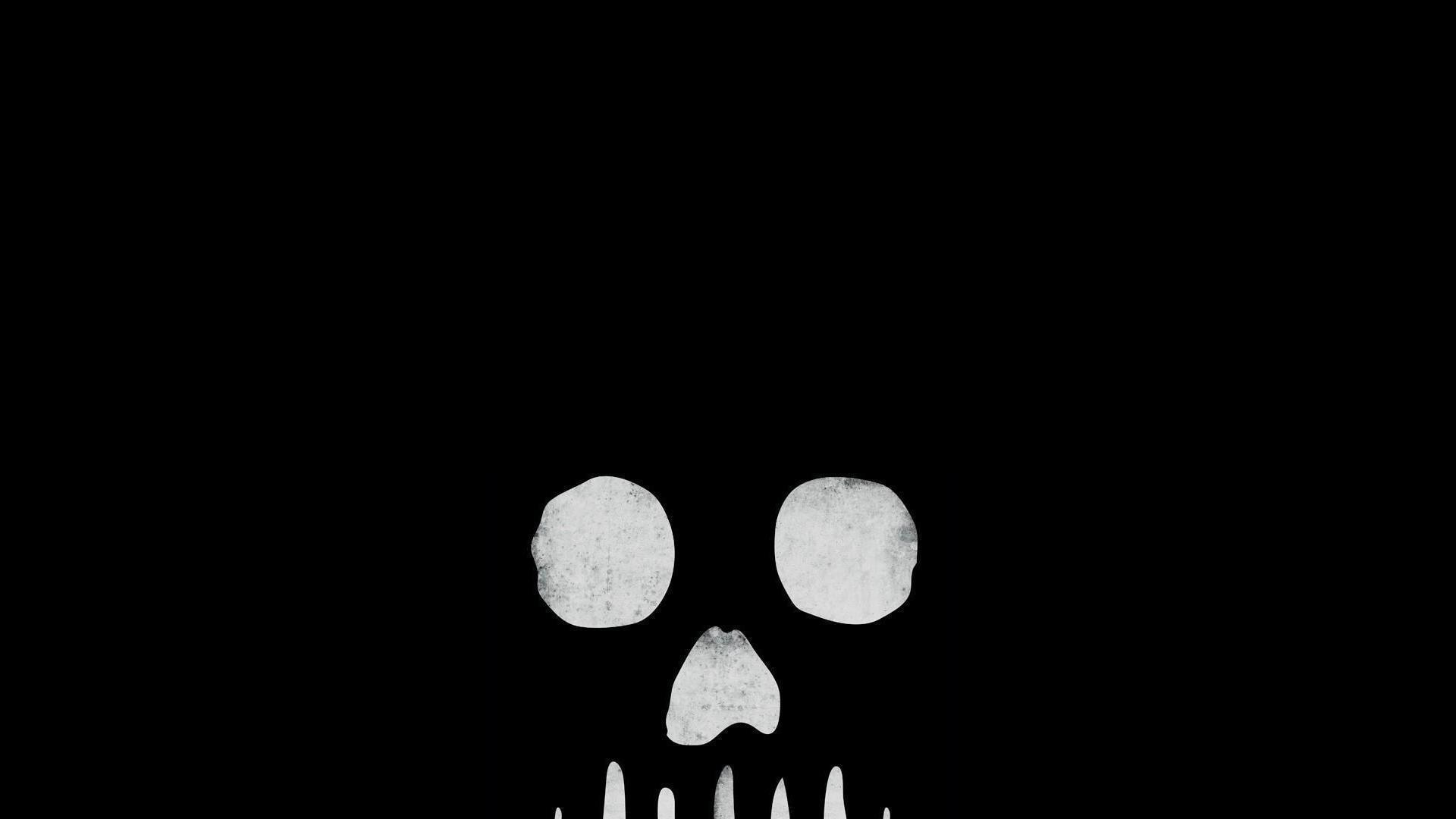 Black background skull grave skulls wallpaper | (106553)