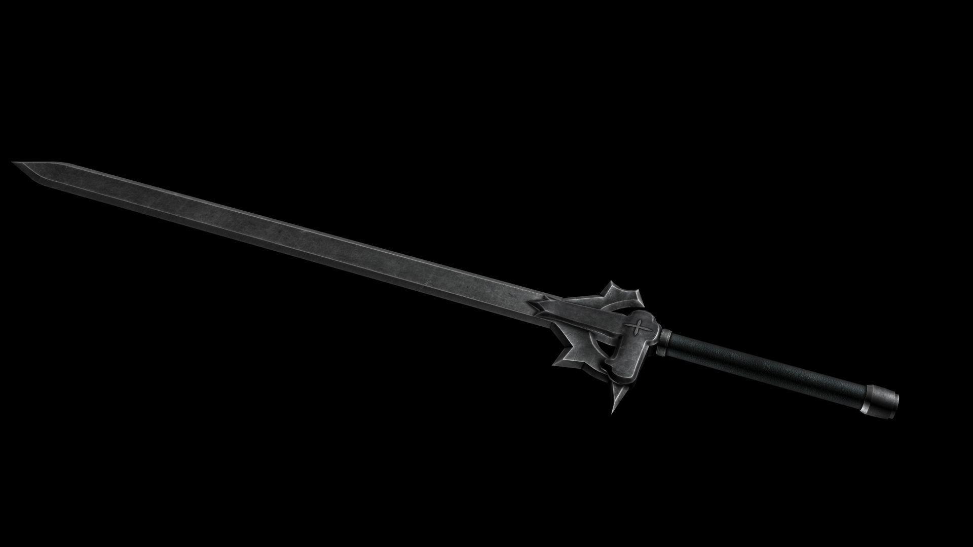Картинки черного меча было