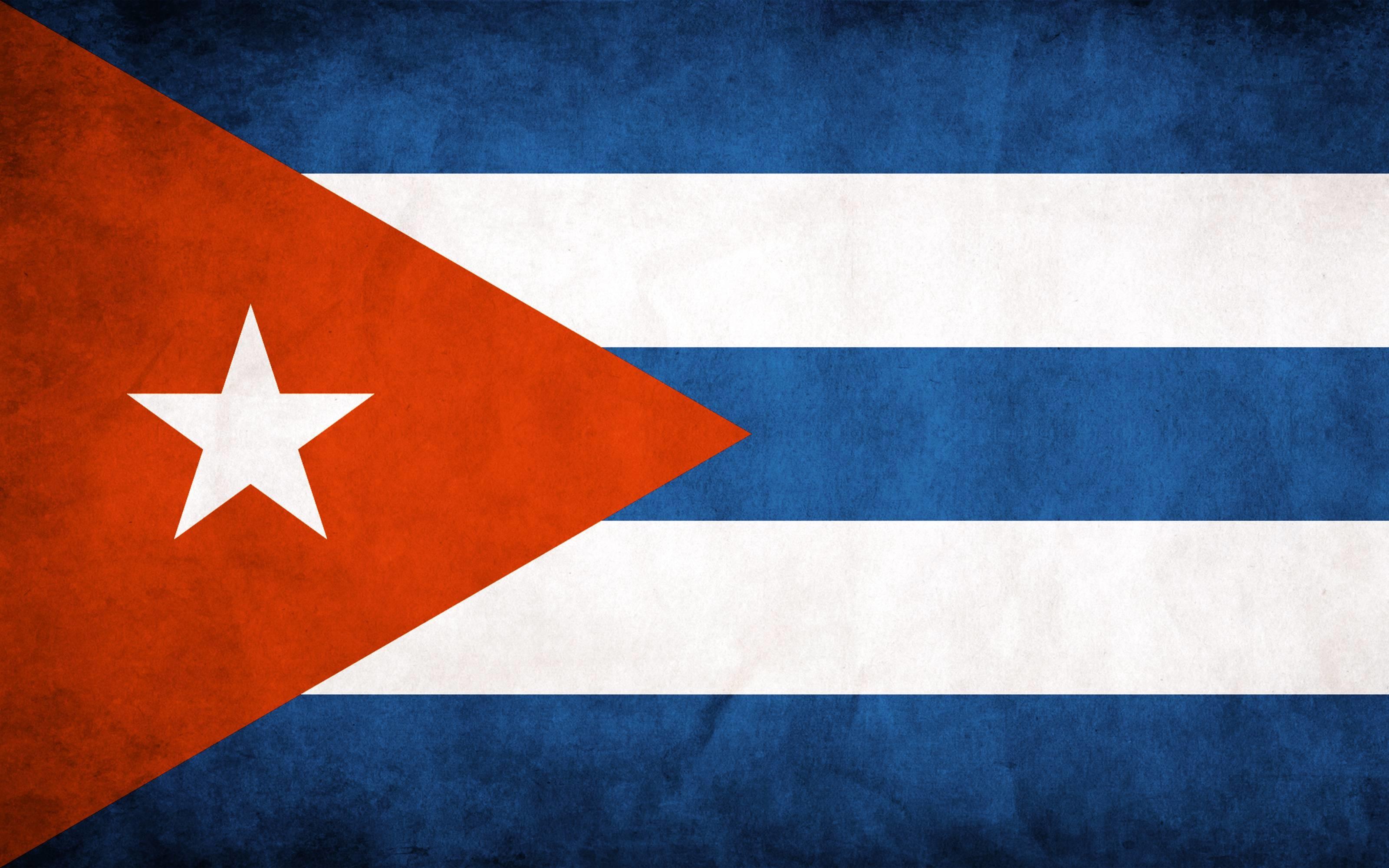 Cuba Flag Wallpaper 3200×2000