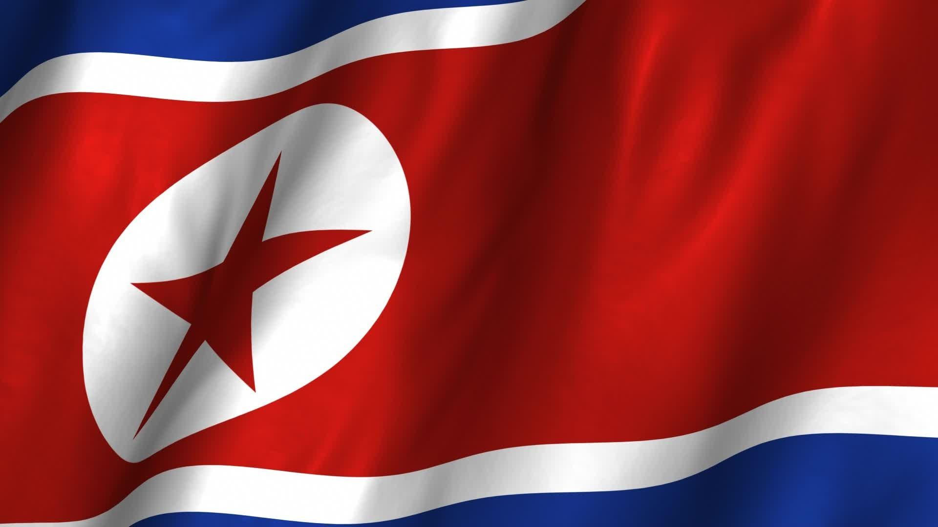 Flag of North Korea wallpaper