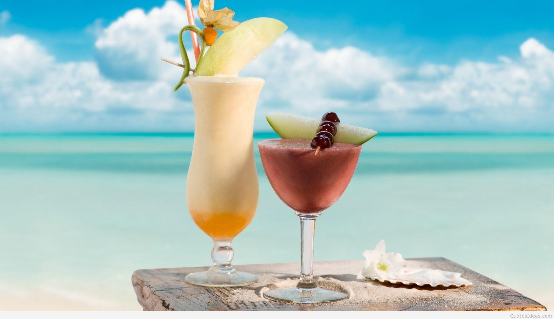 … ws_Summer_Beach_1024x768 Awesome-Summer-Drink-Wallpaper-HD …