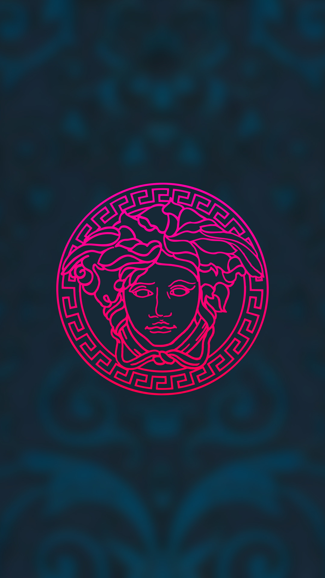 versace, wallpaper, background, phone, simple, clean, minimalism,  illustration #