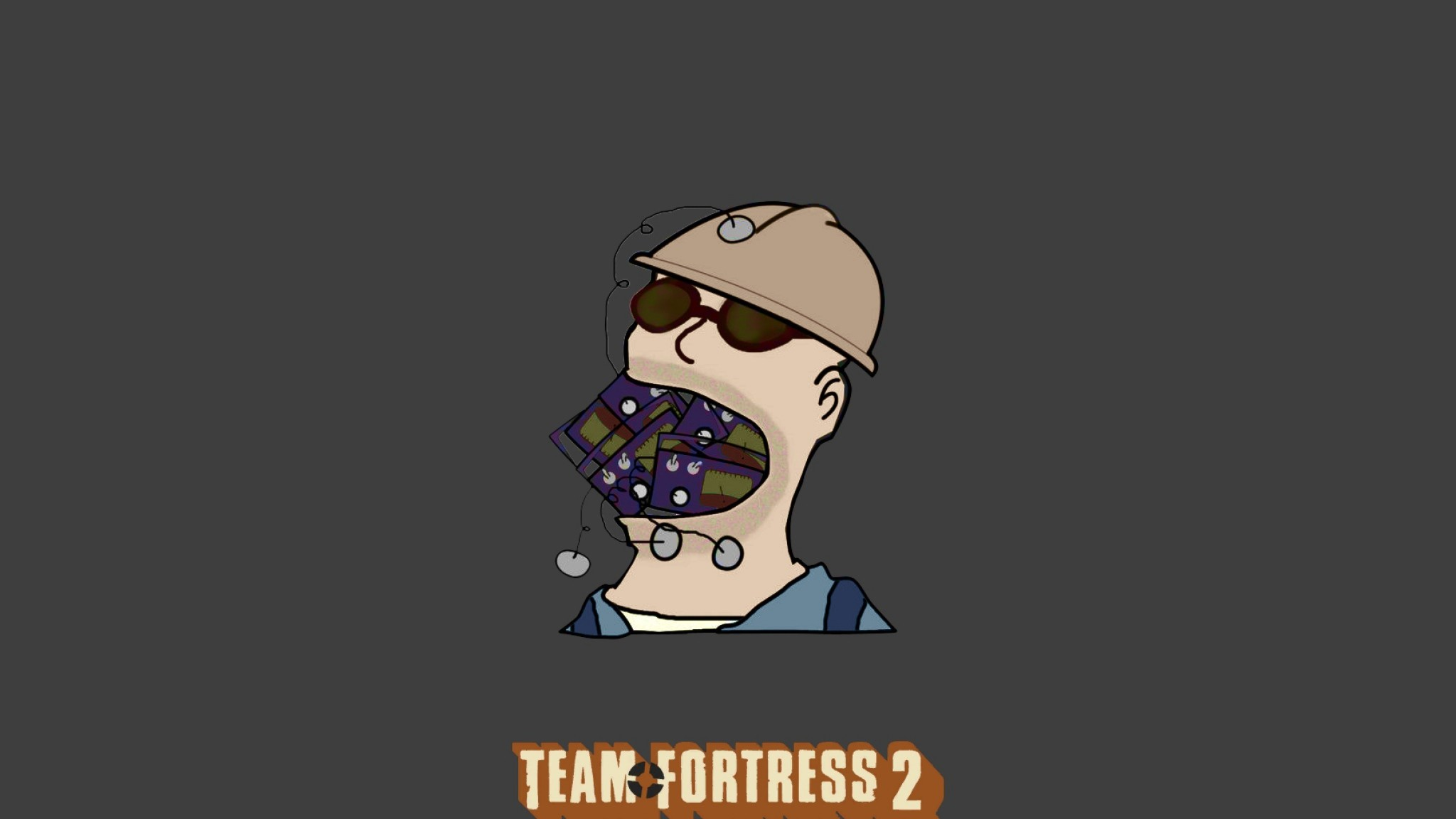 Download Wallpaper Team fortress 2, Head, Helmet .