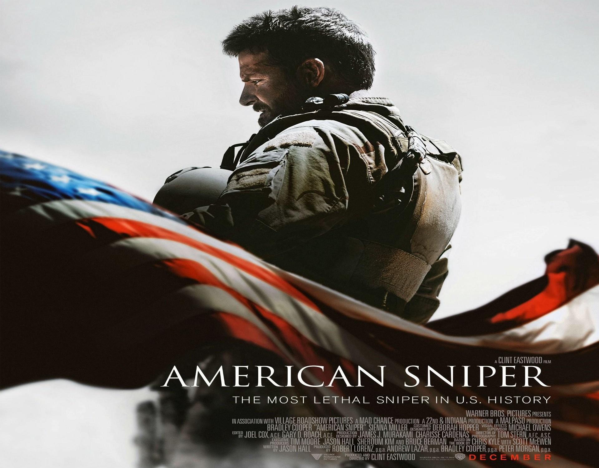 AMERICAN SNIPER biography military war fighting navy seal action clint .