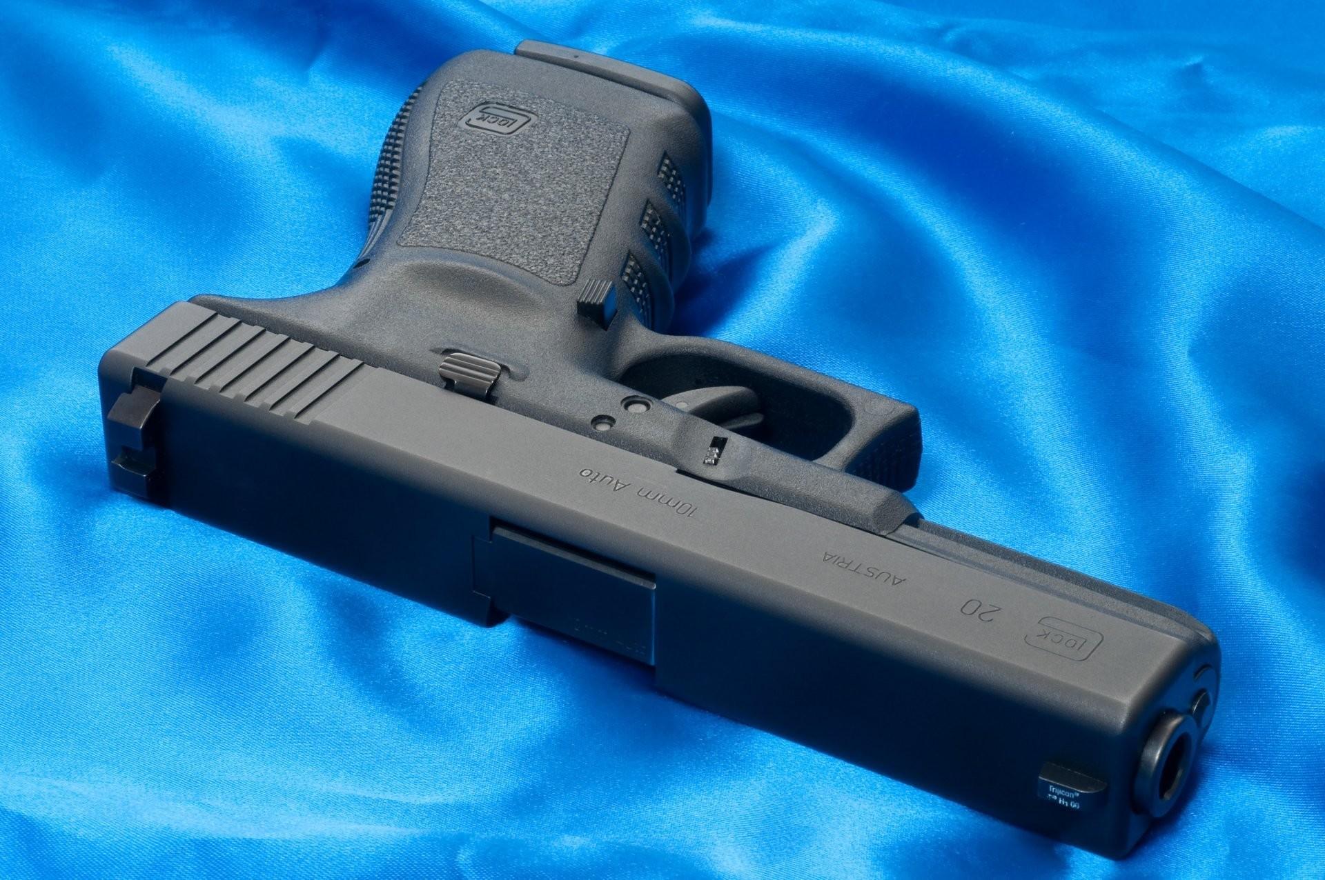 gun glock 20 weapon wallpaper blue glock austria weapons wallpapers
