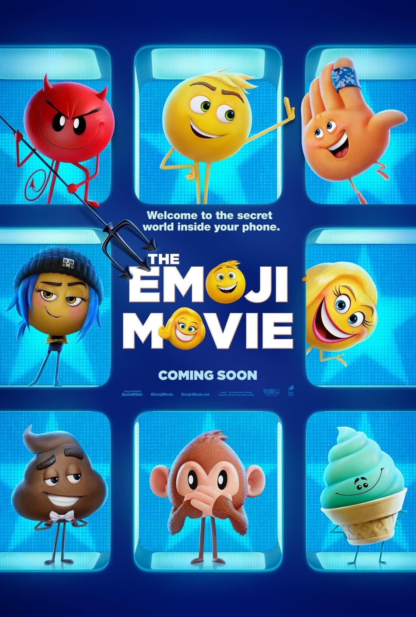 The Emoji Movie iPhone Desktop Wallpapers With 1382×2048