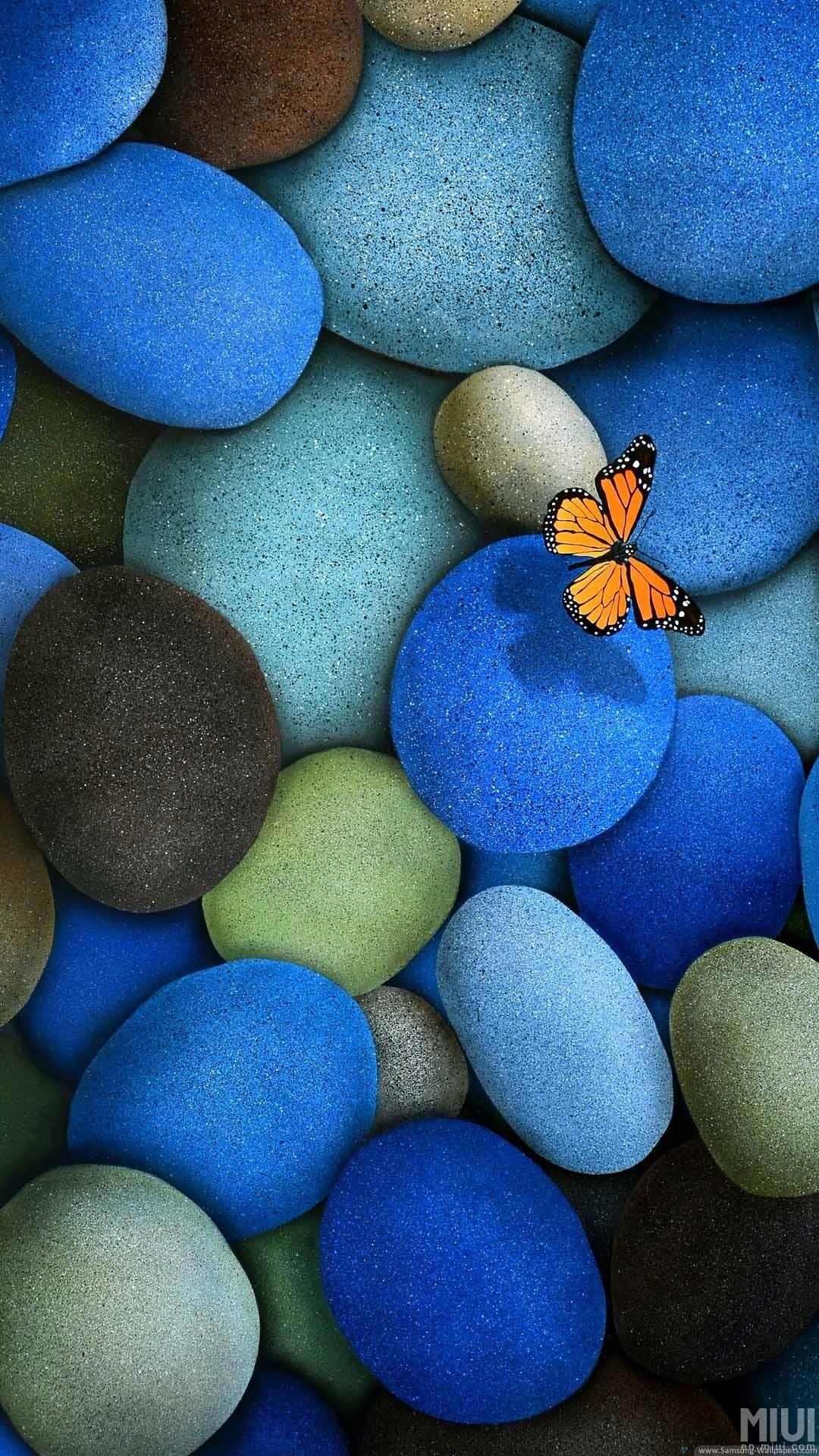 Butterfly Pebbles