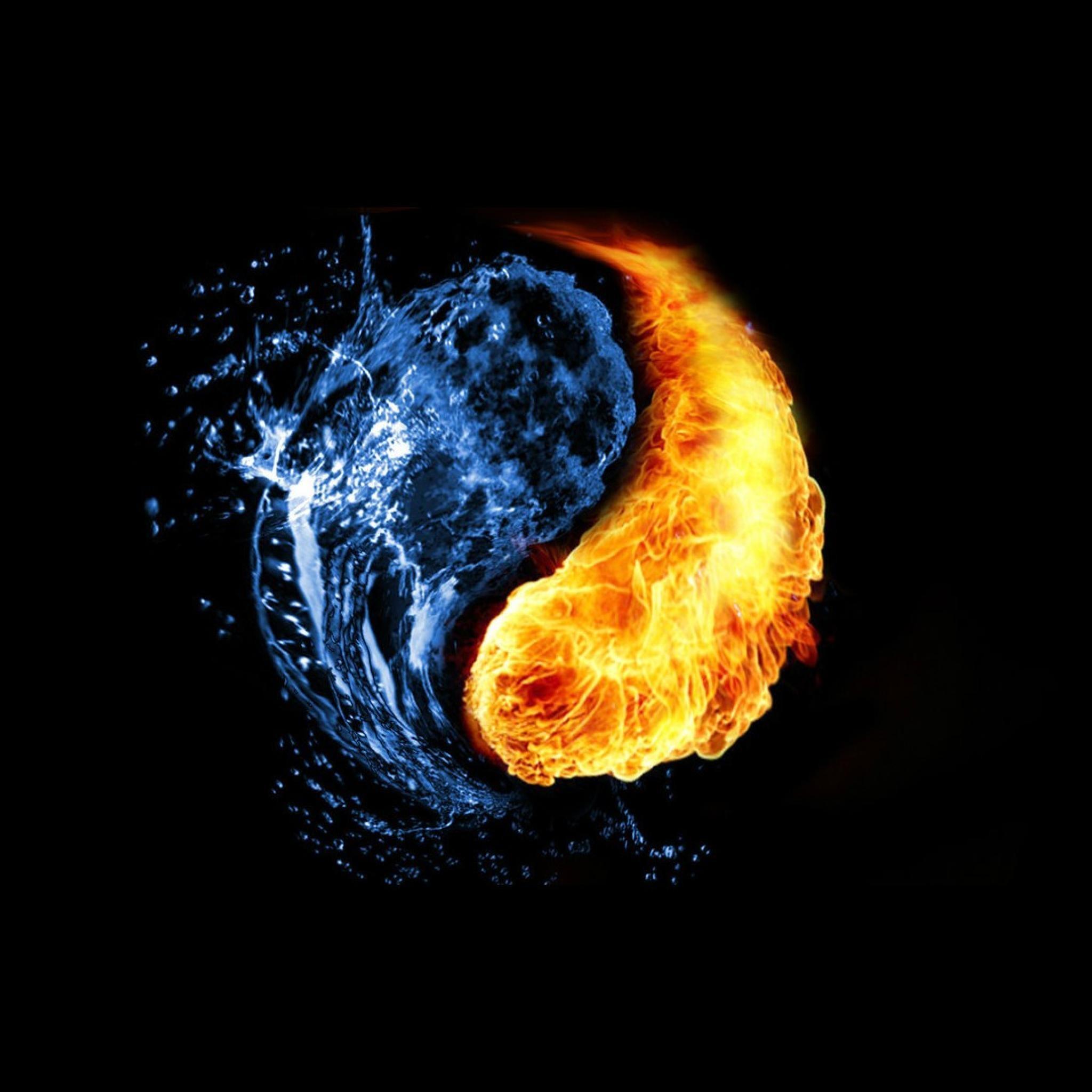 Yin-Yang-Water-Fire-HD-Wallpaper