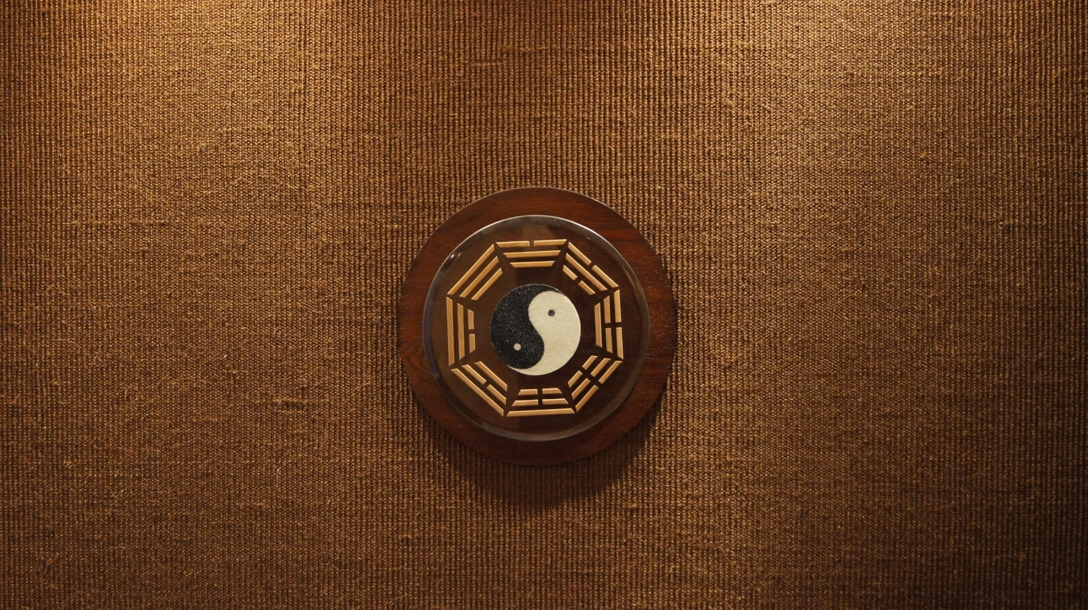 textures background tree yin-yang mark symbol beige brown