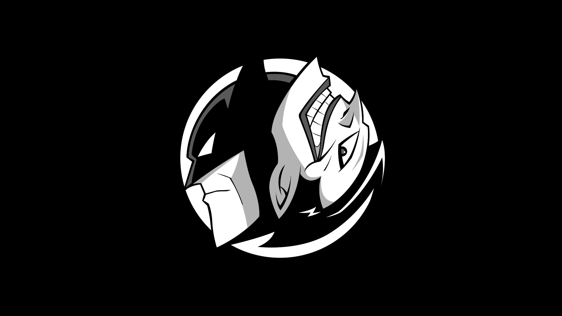 Gotham Yin Yang wallpaper …