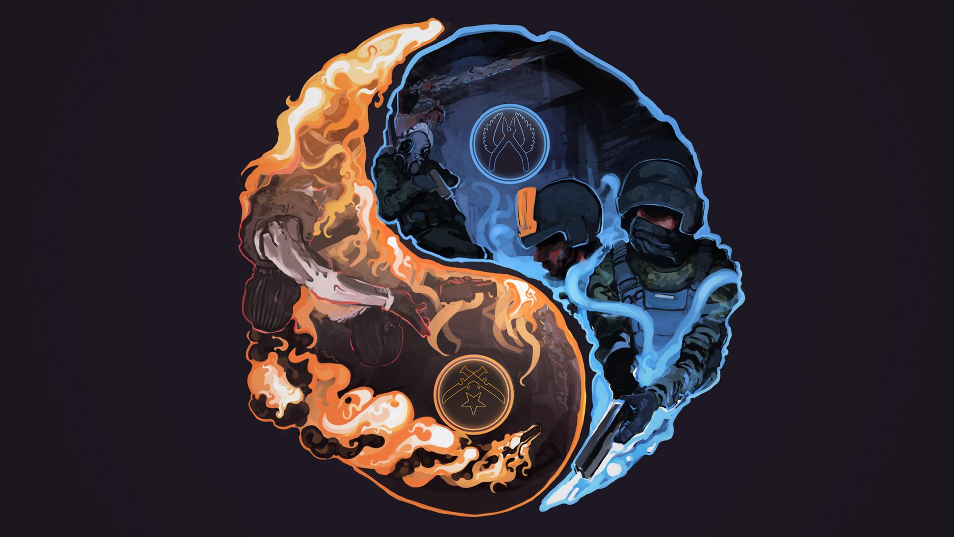 CT vs T – Yin Yang