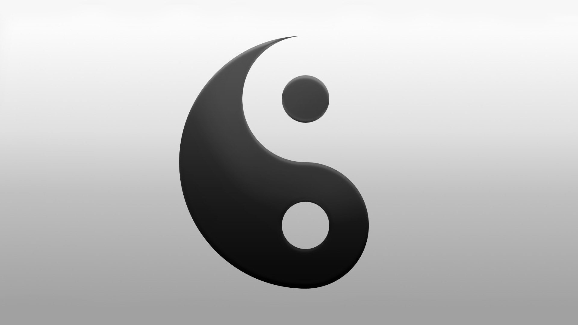 Yin Yang Full HD Wallpaper