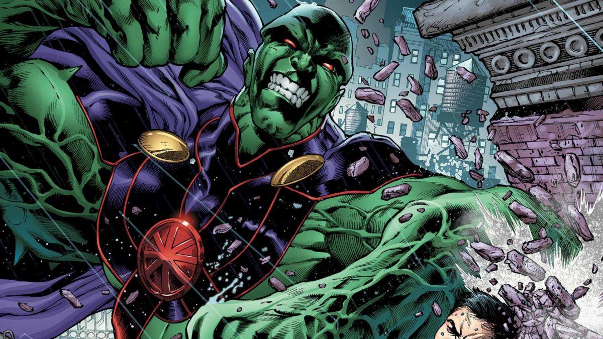 An Absurb Number of Flying Bricks VS Thanos/Darkseid