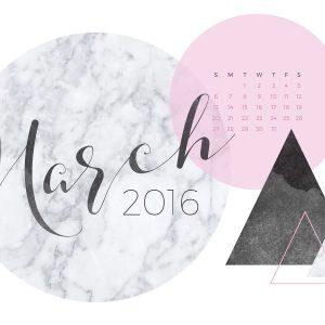 Wallpaper Calendar March 2018