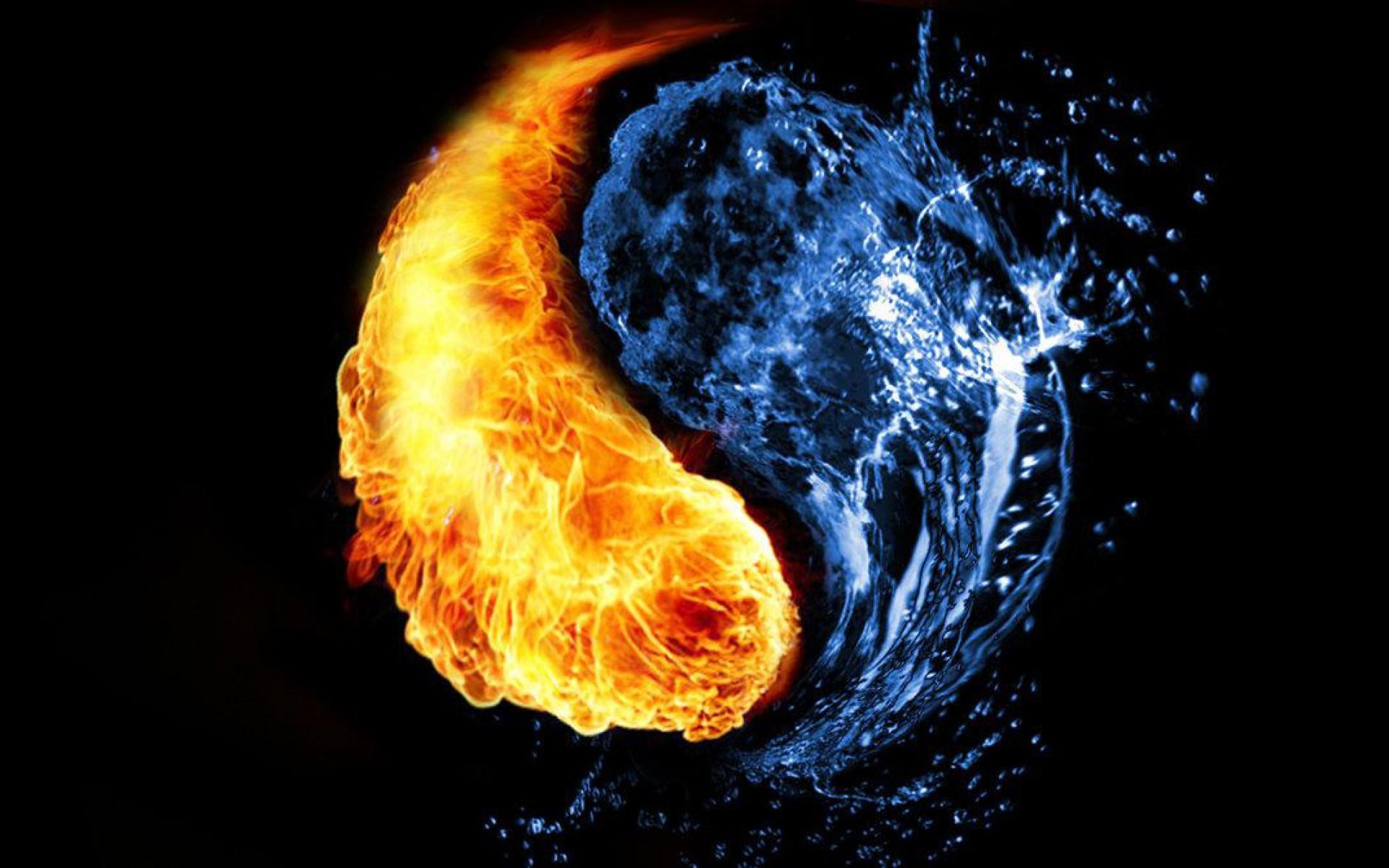 Fire and Ice Yin Yang | fire-and-water-yin-yang.