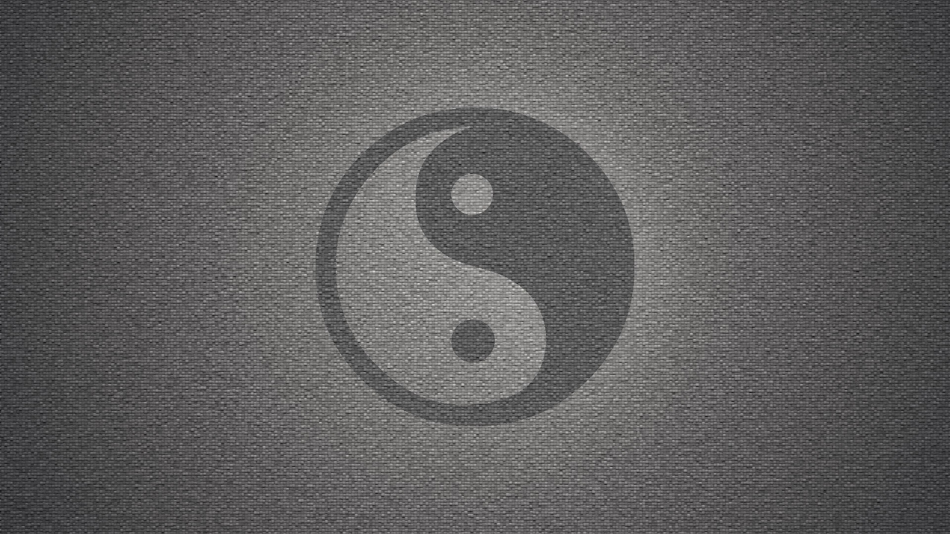 Wall yin yang symbol textures grayscale backgrounds symbols wallpaper |  | 288519 | WallpaperUP