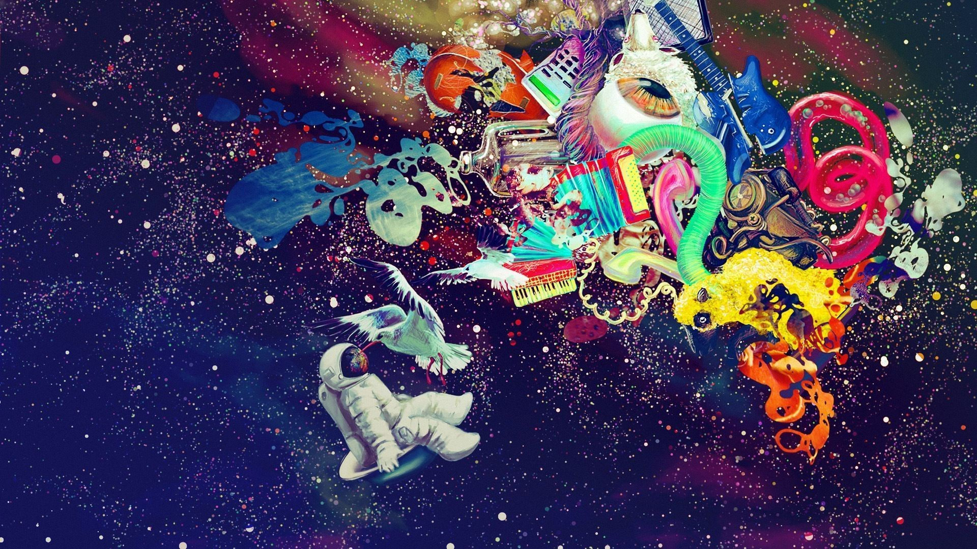 Trippy Space Wallpapers Picture