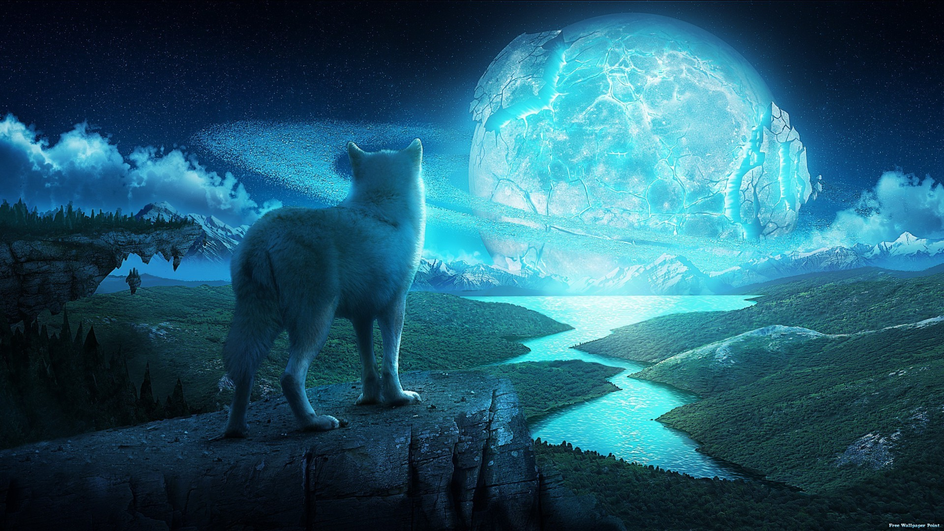 3D HD Wolf Wallpaper – MixHD wallpapers