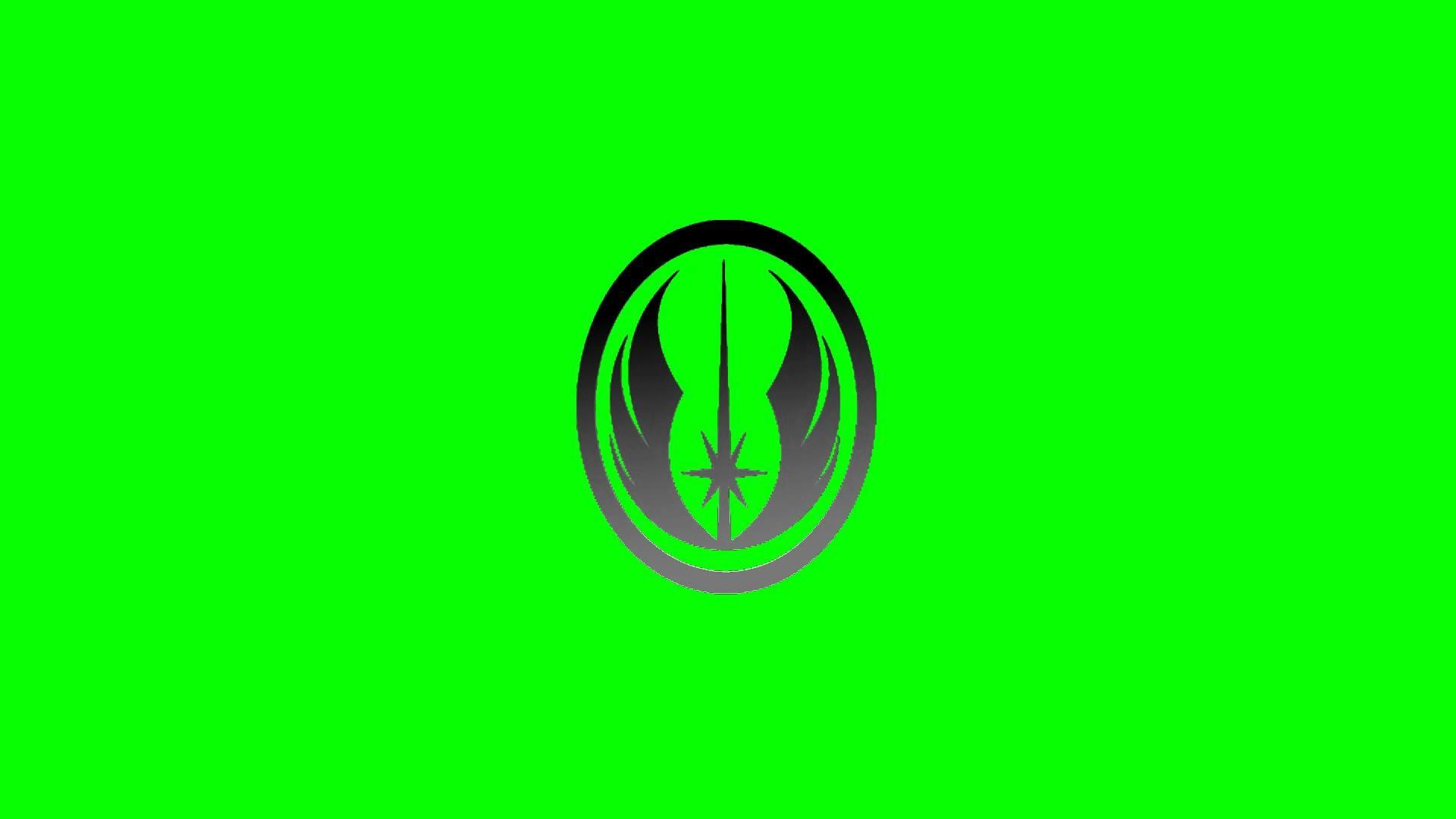 Star Wars Jedi Order Symbol – Green Screen Animation