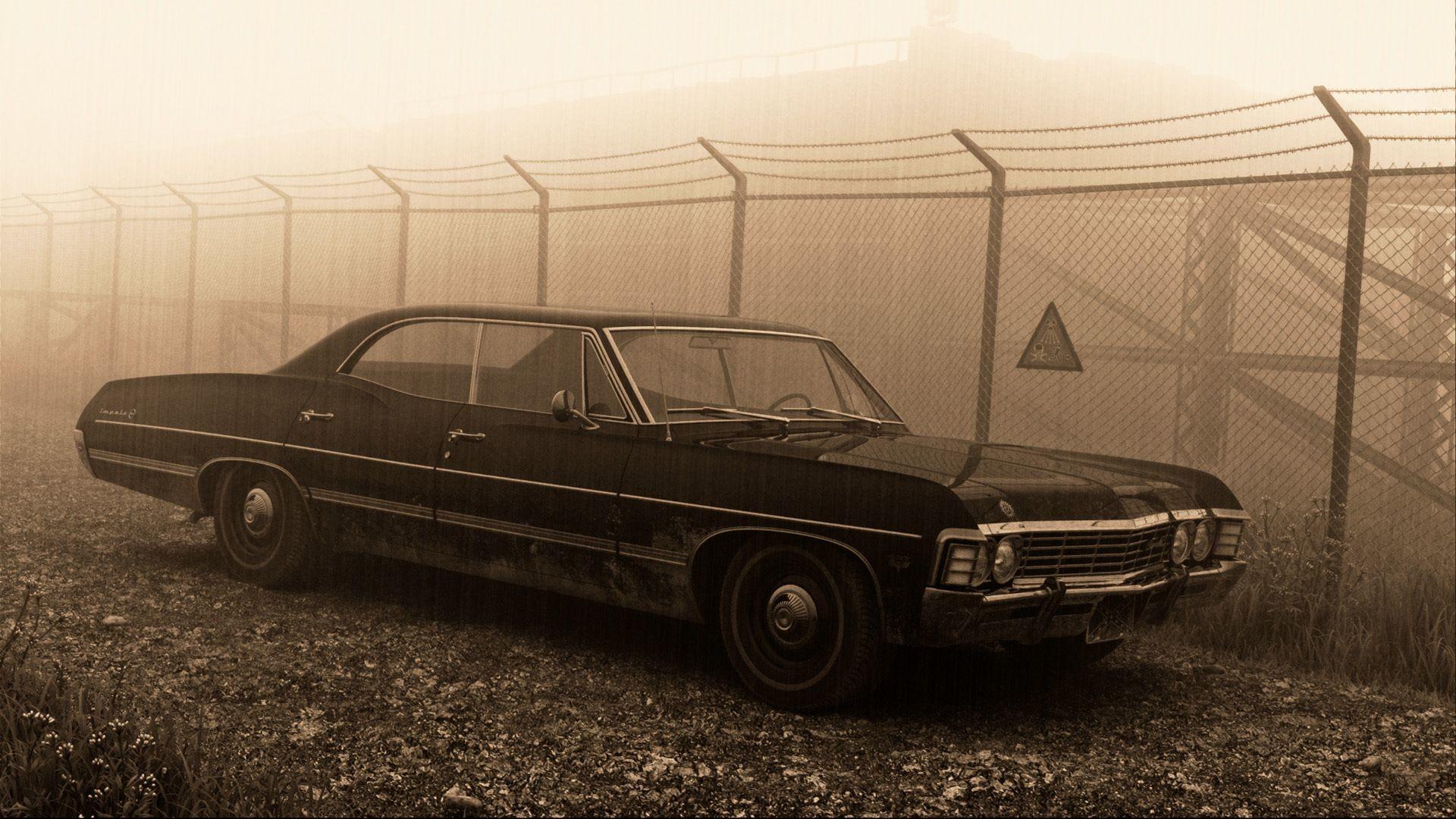 67 Impala Supernatural Wallpaper …