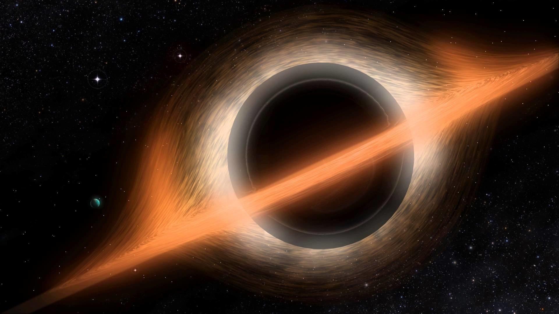 Interstellar Style Black Hole Visualization (4K Ultra High Definition)