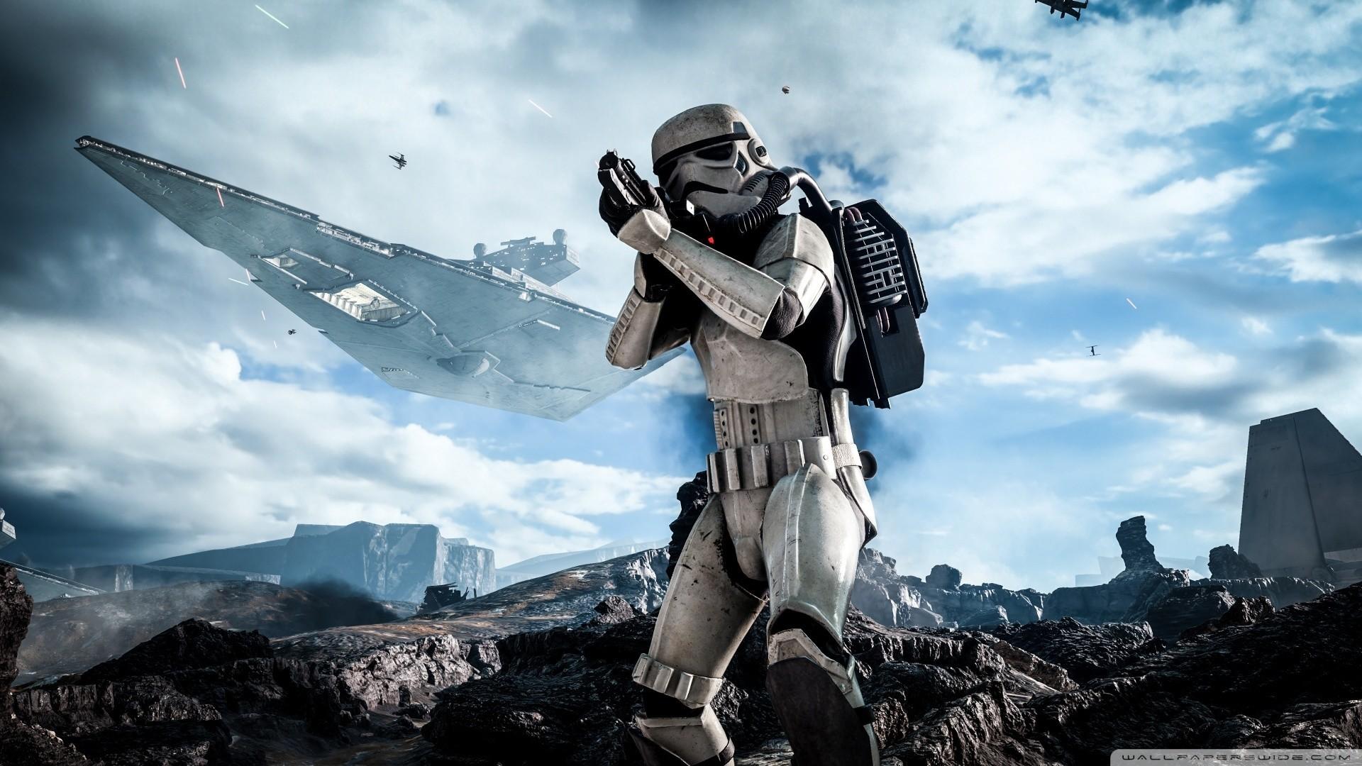Star Wars Battlefront Stormtrooper HD Wide Wallpaper for Widescreen