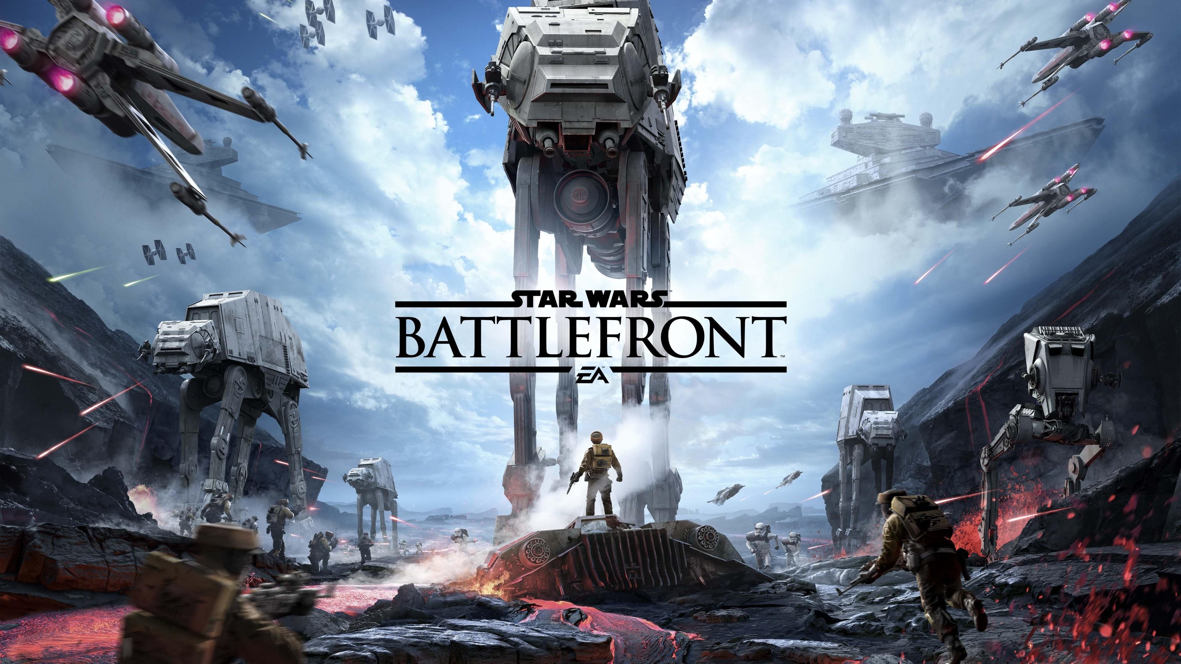 Star Wars Battlefront 4K. (4K)