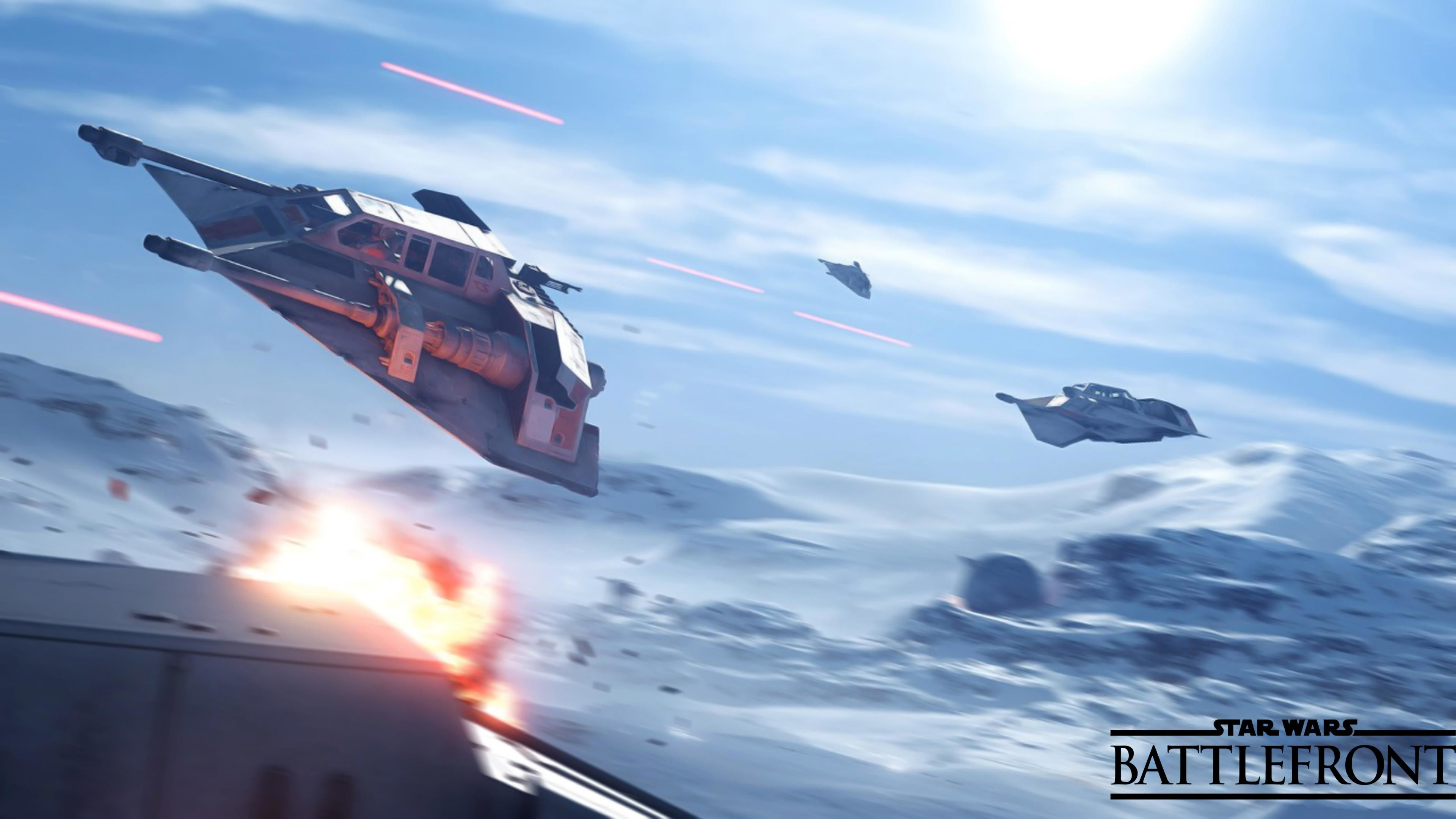 I made another 4K Star Wars Battlefront wallpaper for you guys!