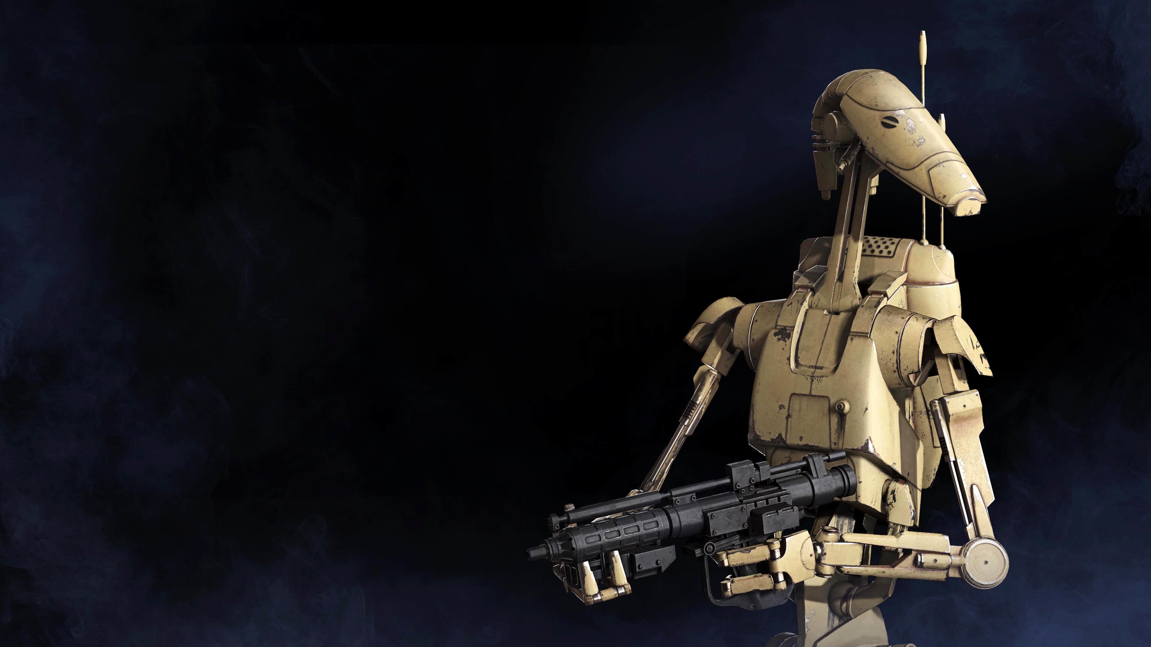 Star Wars: Battlefront II Battle droid wallpaper