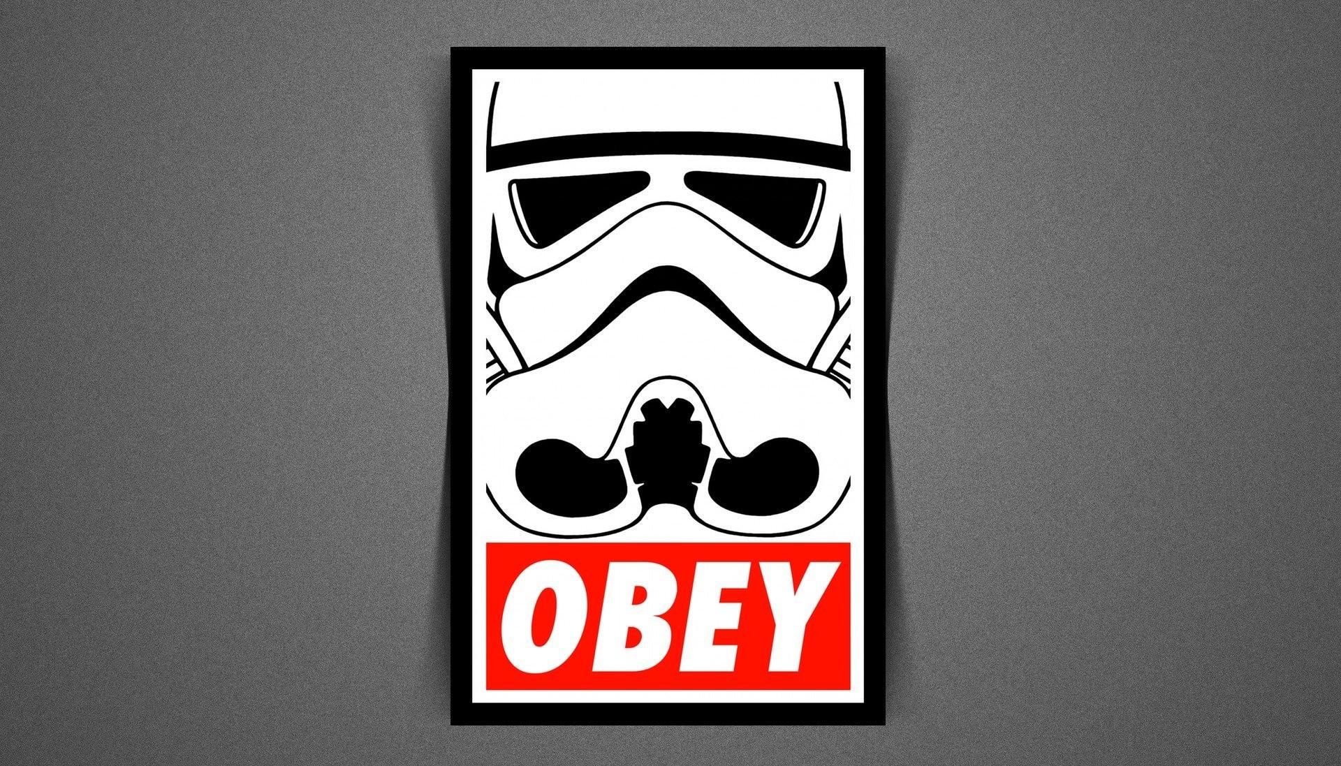 stormtrooper obey star wars empire star wars