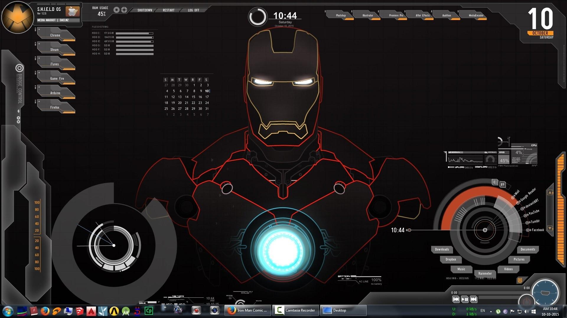 Jarvis Iron Man Wallpaper HD – WallpaperSafari