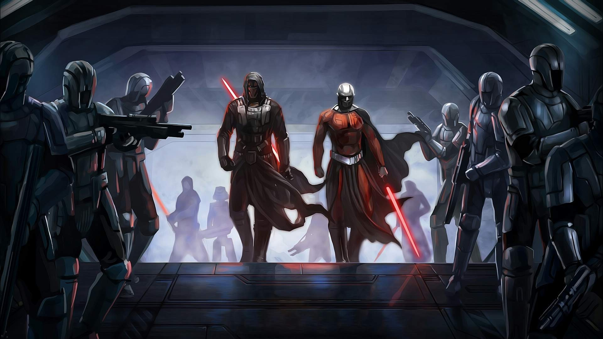 Knights of the Old Republic is Too Much for the Current Star Wars Canon –  Geek Reply