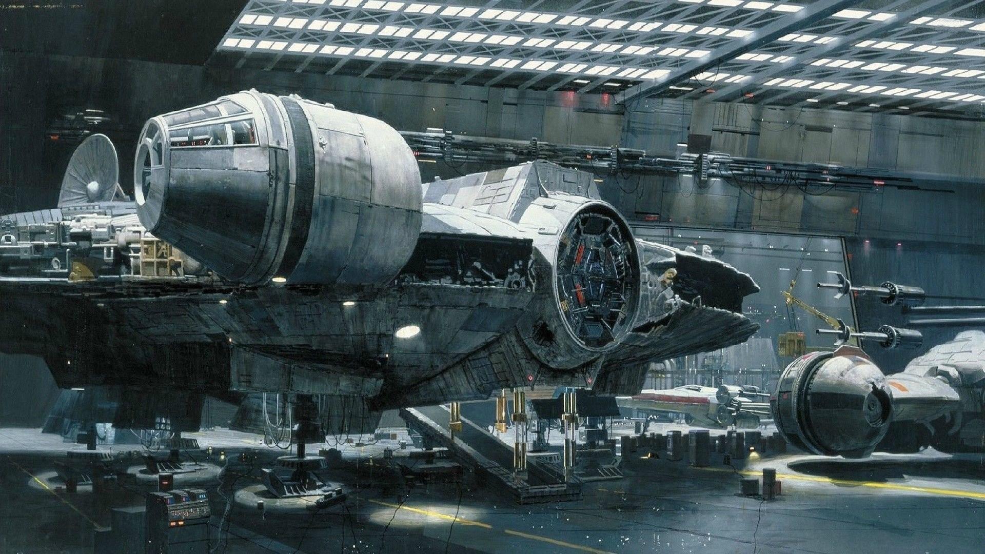 Star Wars Millenium Falcon Spaceships …