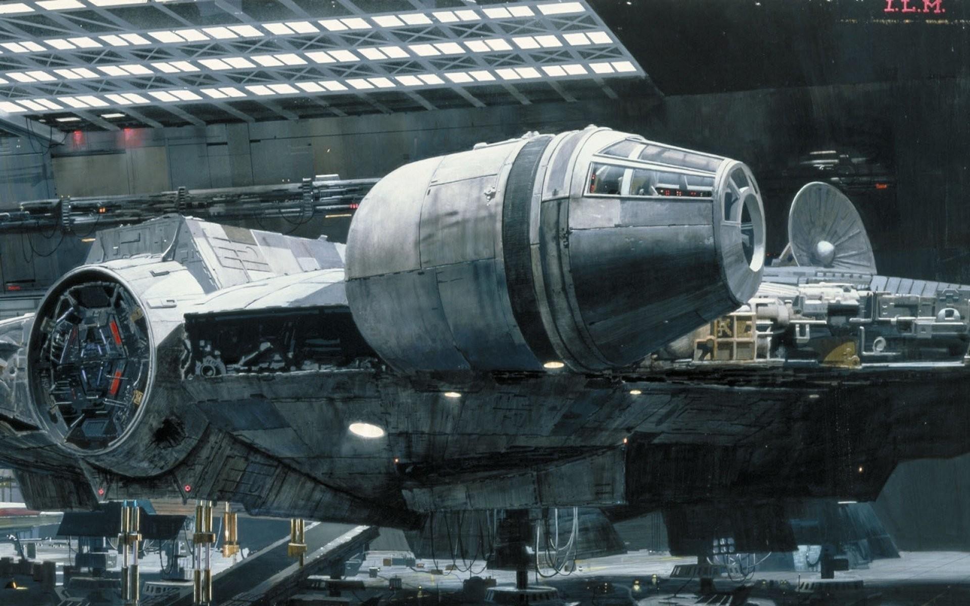 Movie – Star Wars Millennium Falcon Wallpaper
