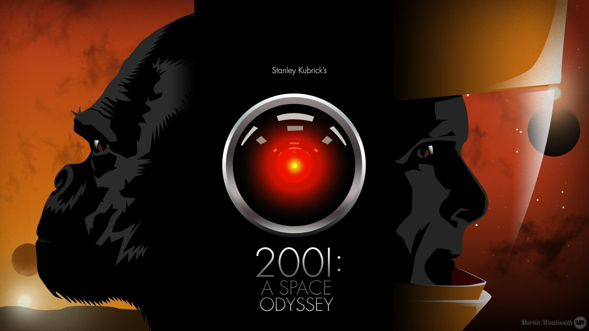 2001: A Space Odyssey, HAL 9000 HD Wallpapers / Desktop and Mobile Images &  Photos