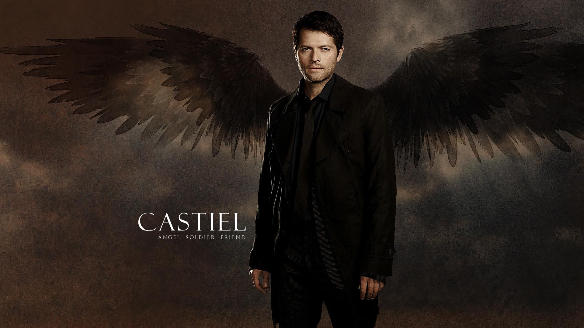 supernatural wallpaper castiel | Wallpaper: Castiel by KajatheDog on  deviantART | Castiel82074 | Pinterest | Castiel, Supernatural wallpaper and  …