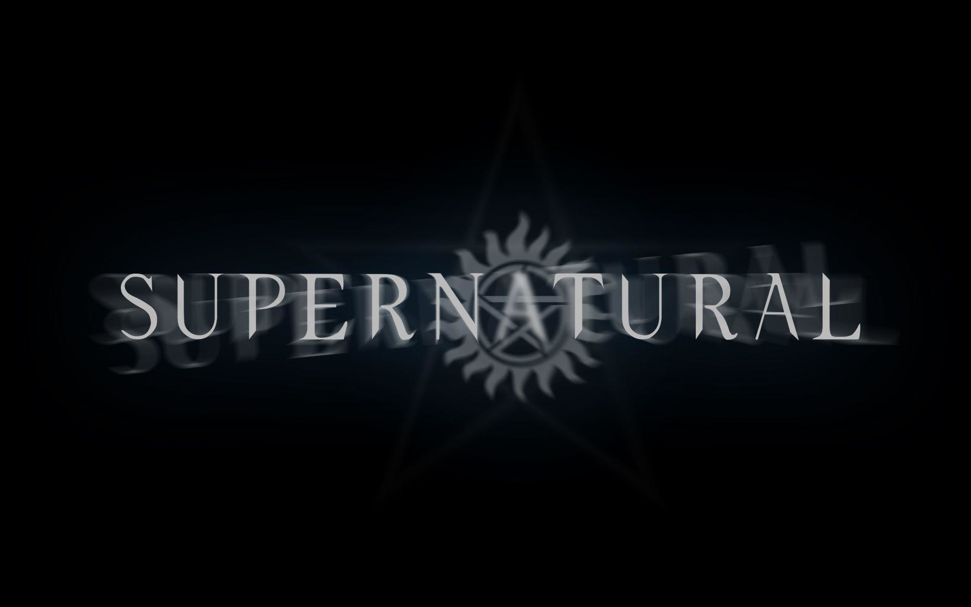 Logo Supernatural Wallpaper | Wallpapers, Backgrounds, Images, Art ..