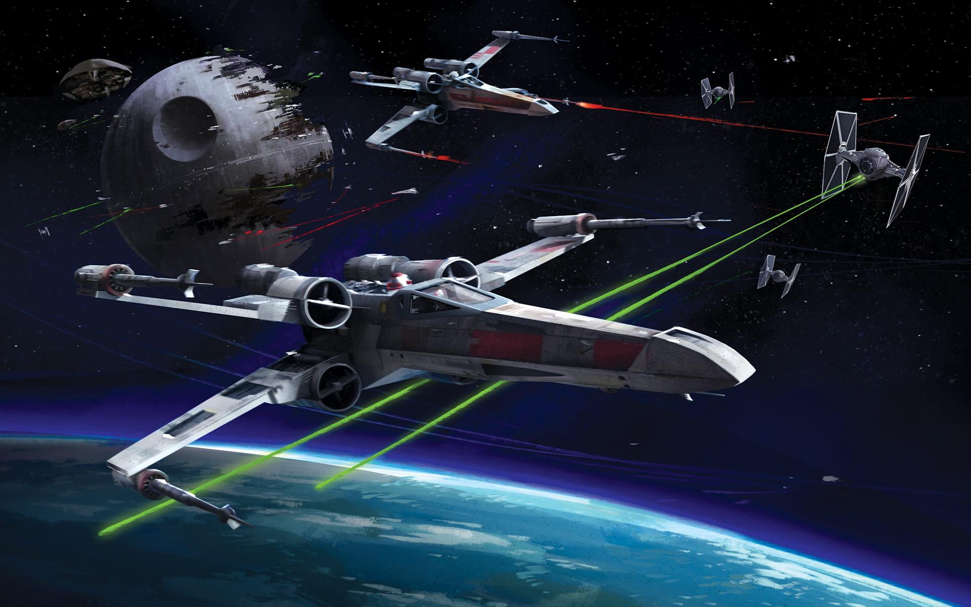 Resistance X Wing Wallpaper
