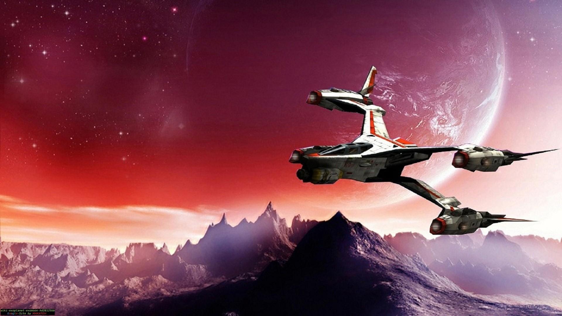 TV Show – Babylon 5 Ship Planet Moon Wallpaper