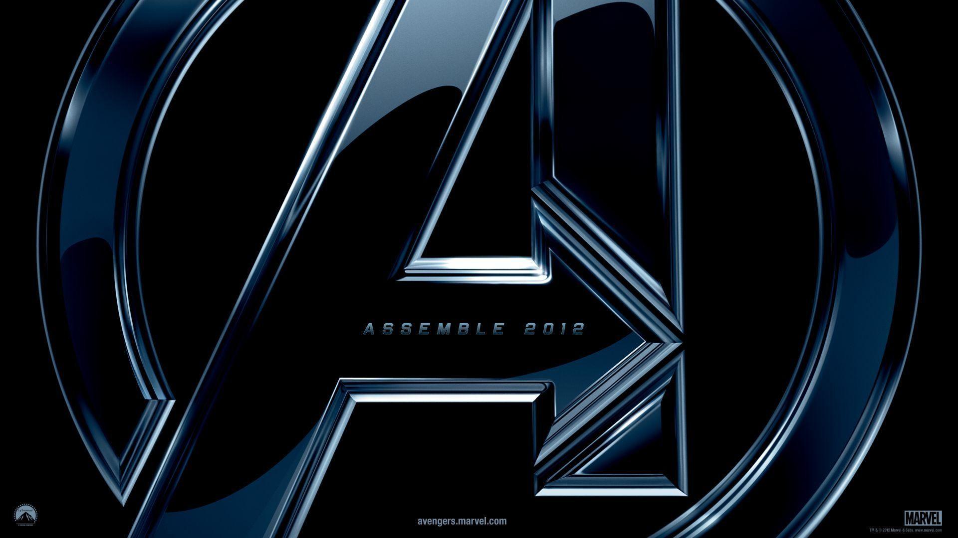 Wallpapers For > Avengers Logo Wallpaper Hd