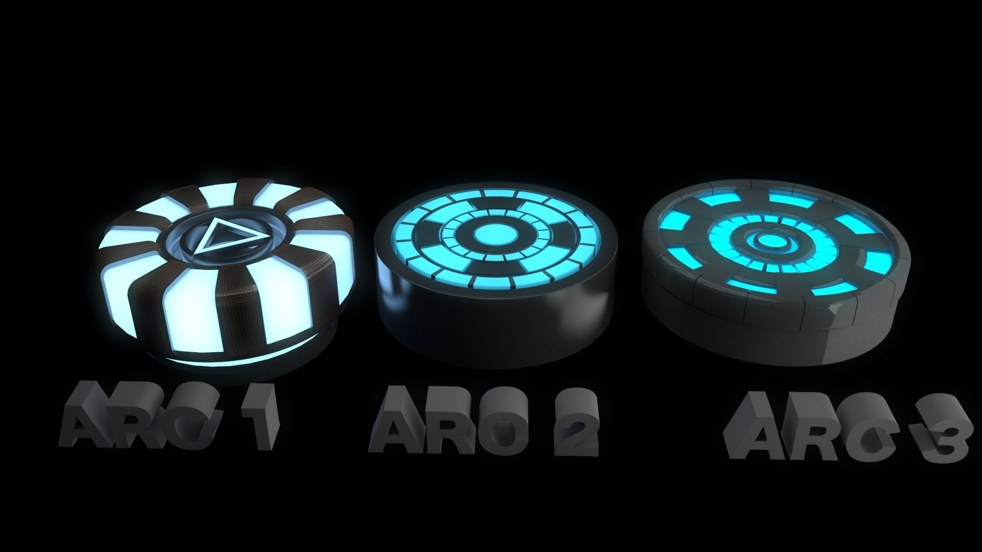 picture of arc reactor iron man