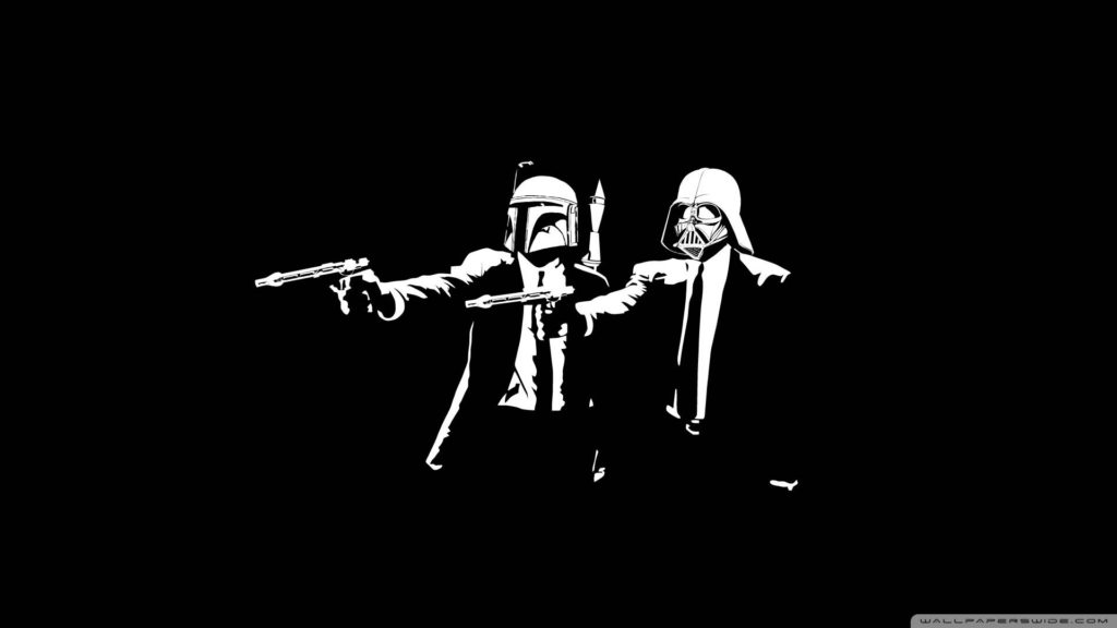 pulp fiction as star wars cool wallpaper