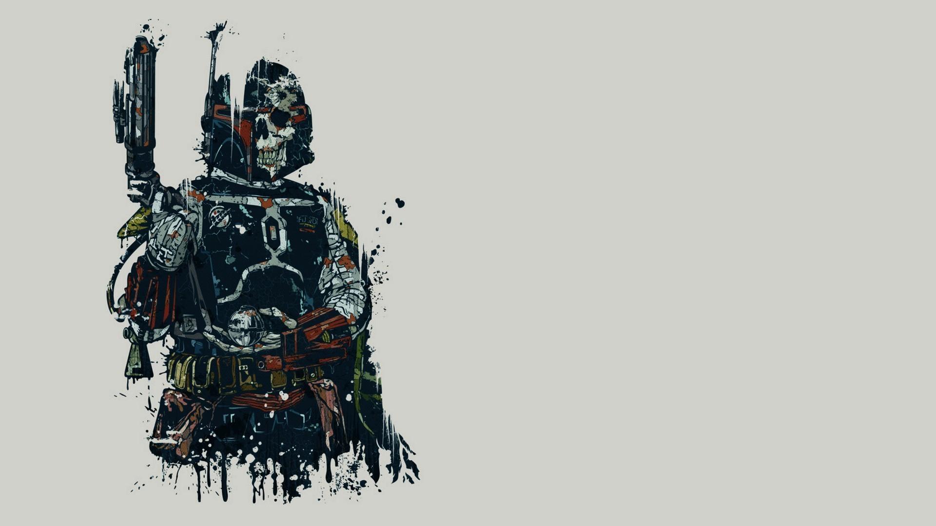 Darth Vader drawing wallpaper #17390