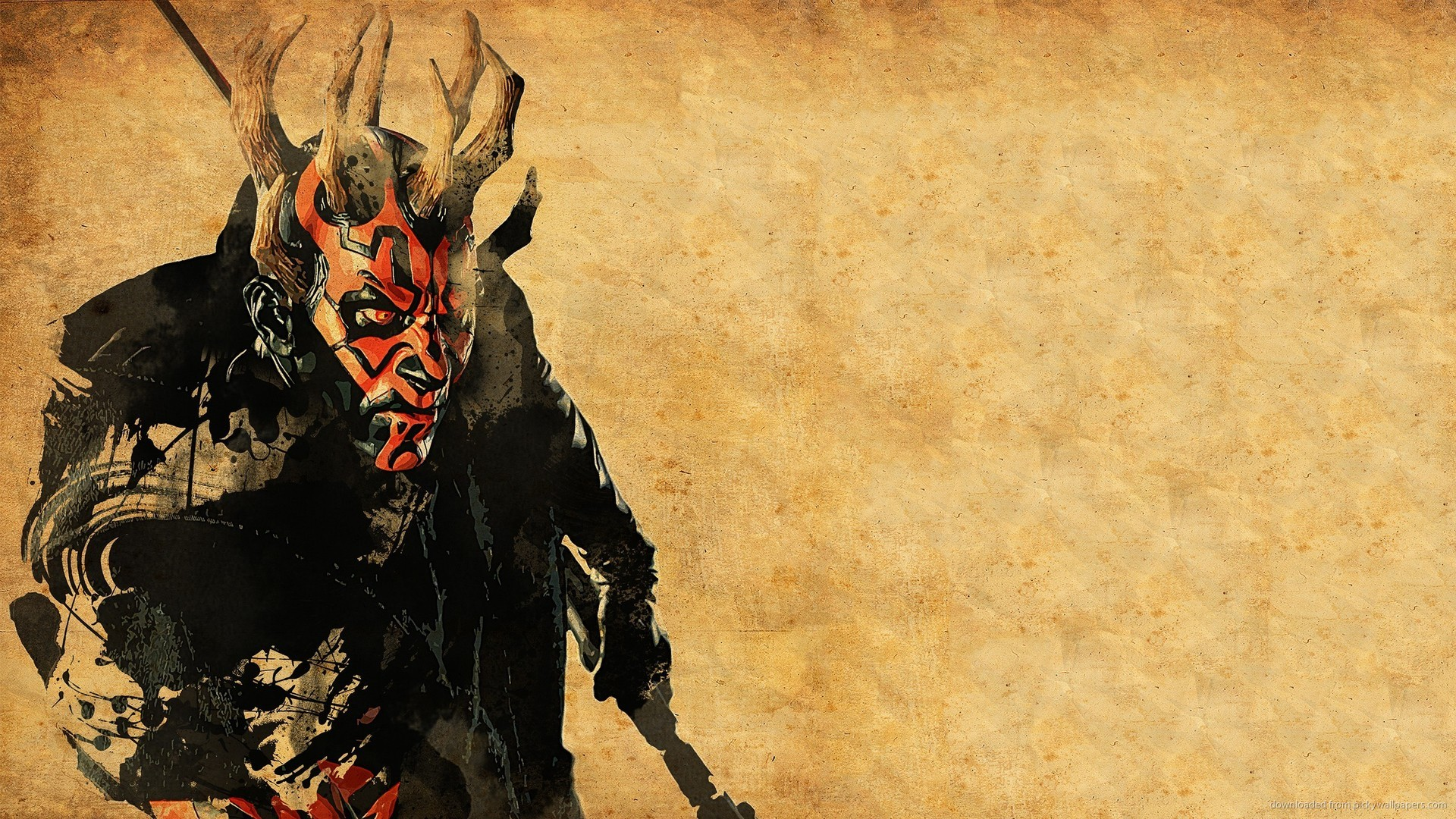 Horned Darth Maul picture