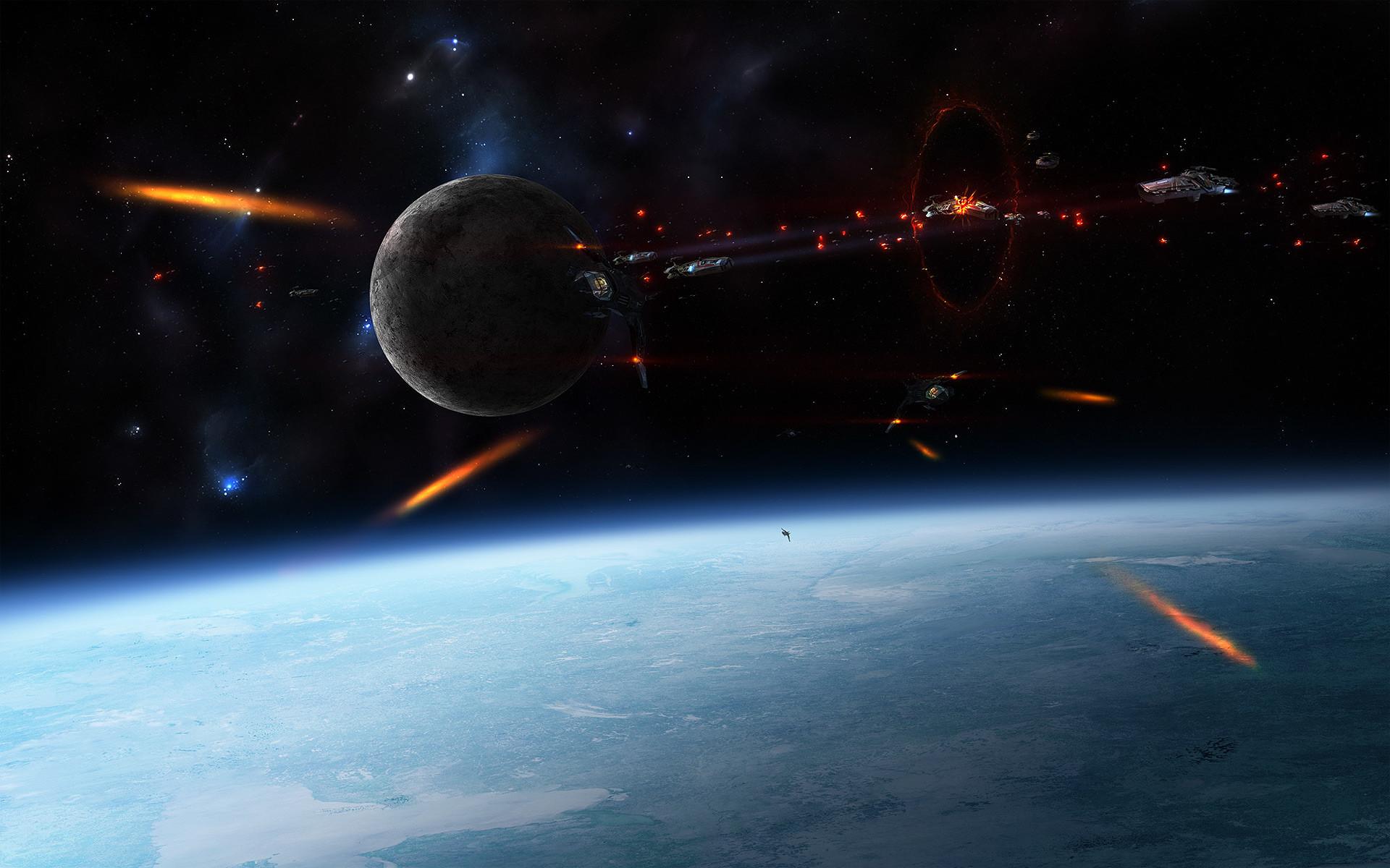 Epic Space Battles Wallpaper – WallpaperSafari