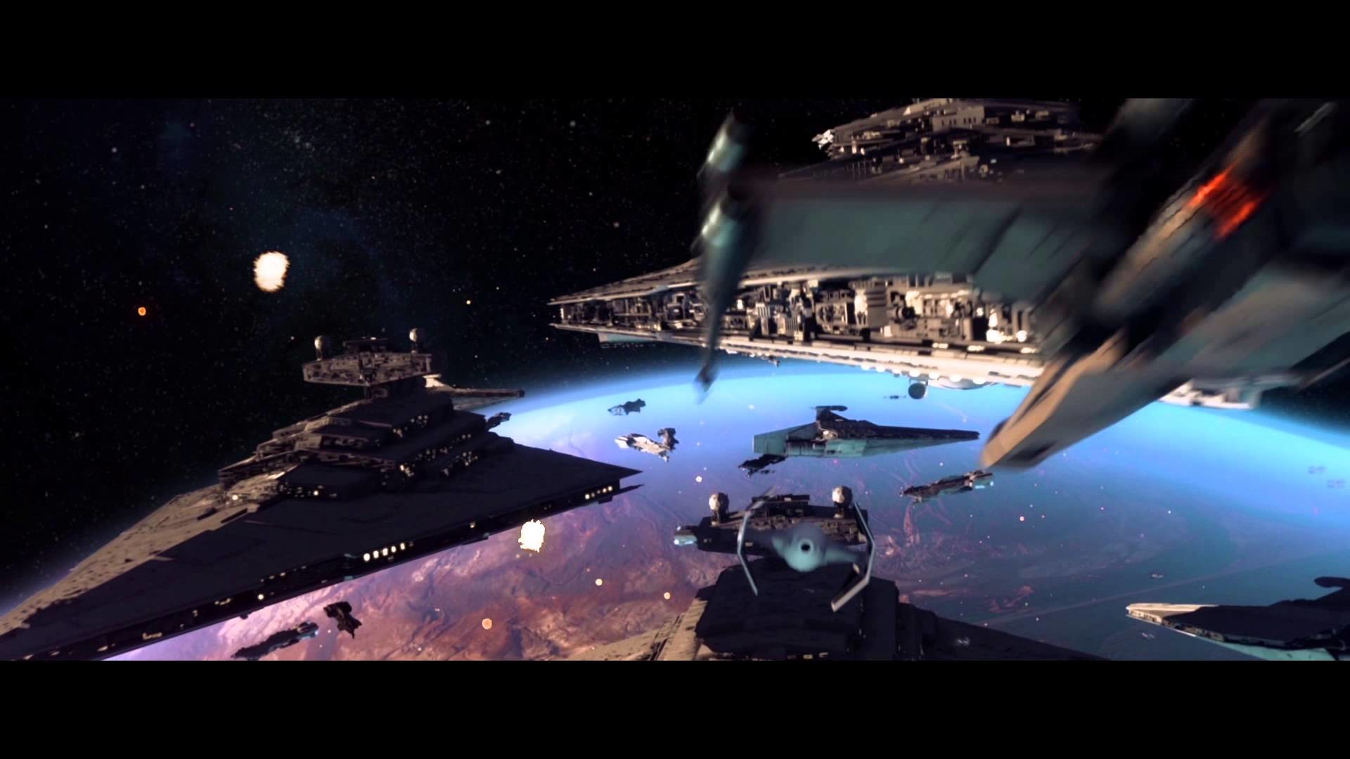 STAR WARS space battle test – After Effects, Element 3D, Trapcode  Particular – YouTube